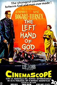Humphrey Bogart and Gene Tierney in The Left Hand of God (1955)