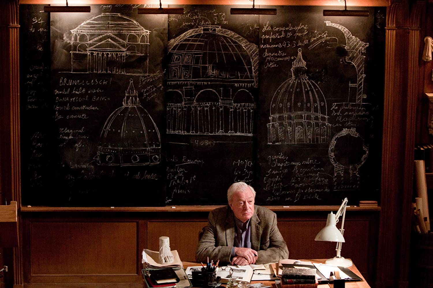 Michael Caine in Inception (2010)