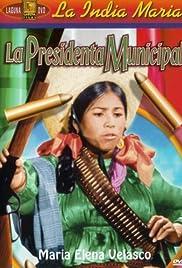 La presidenta municipal Poster