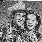 Roy Rogers and Penny Edwards in In Old Amarillo (1951)
