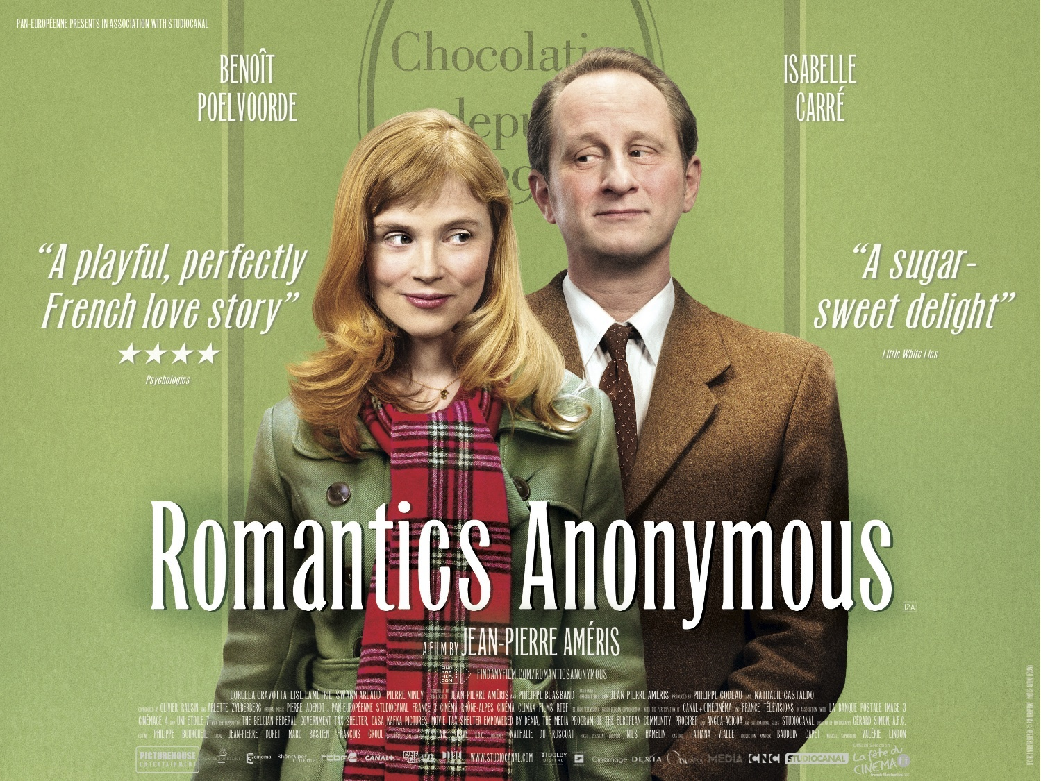 Isabelle Carré and Benoît Poelvoorde in Les émotifs anonymes (2010)