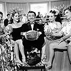 Amalia Aguilar, Nelly Montiel, Rosina Pagã, Rosita Quintana, and Germán Valdés in Calabacitas tiernas (1949)