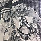 Noah Beery and Roscoe Karns in Beau Sabreur (1928)