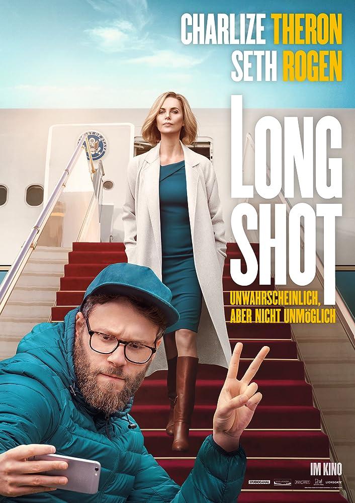 Long Shot (2019) English 720p HDRip 796MB   400MB Download
