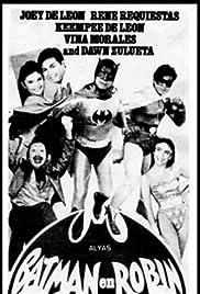 Alyas Batman en Robin Poster
