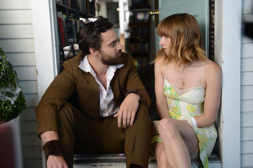 Zoe Kazan and Jake Johnson in The Pretty One (2013)