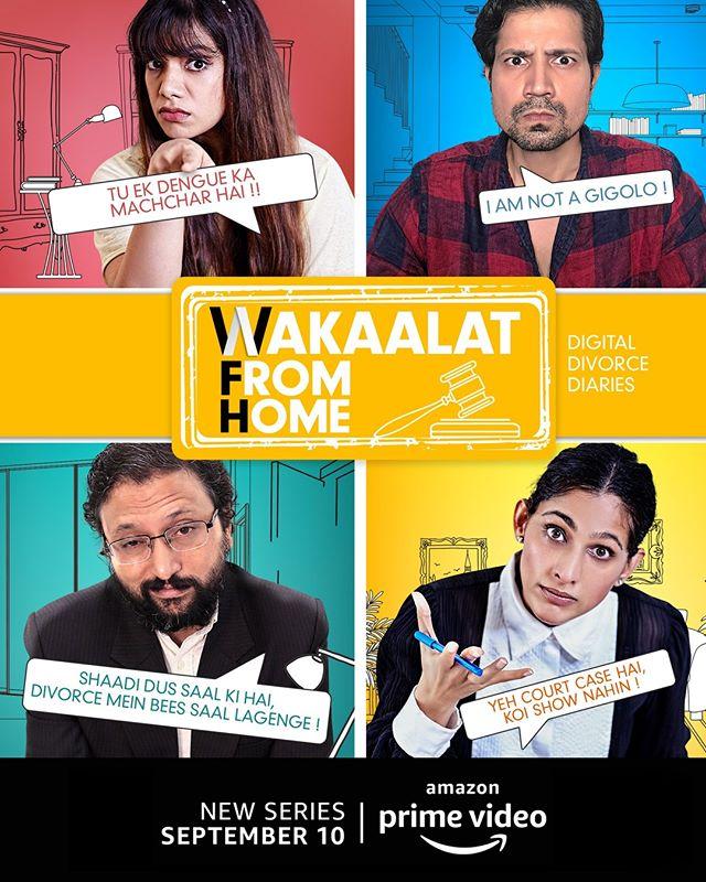 Wakaalat from Home 2020 Hindi S01 Complete AMZN Web Series 720p HDRip 950MB Download