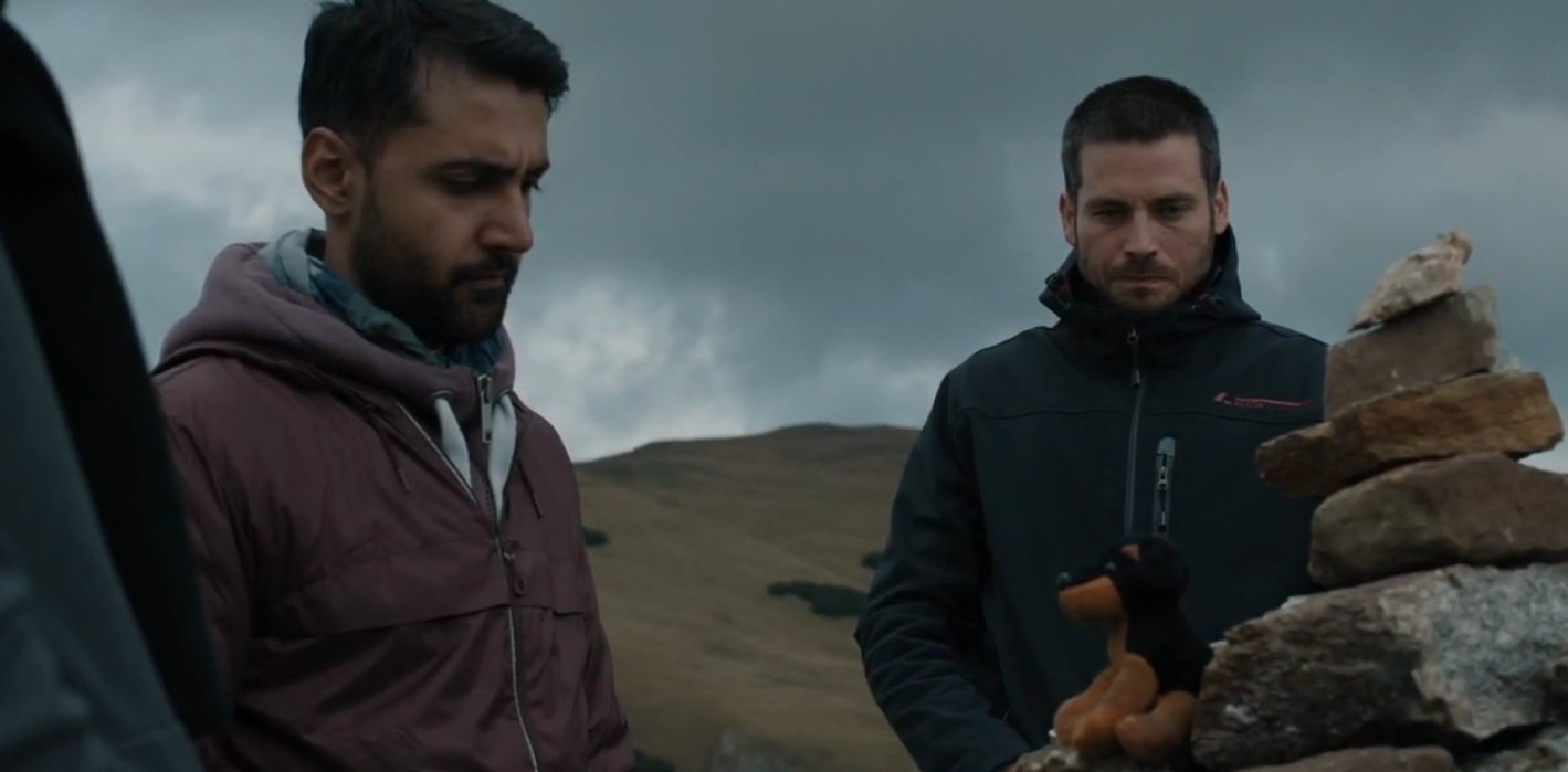 Robert James-Collier and Arsher Ali in The Ritual (2017)