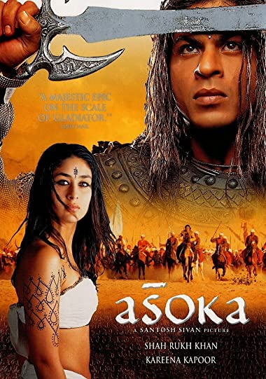 Poster of Ashoka the Great 2001 Full Hindi Free Download Watch Online In HD Movie Download 480p HDRip