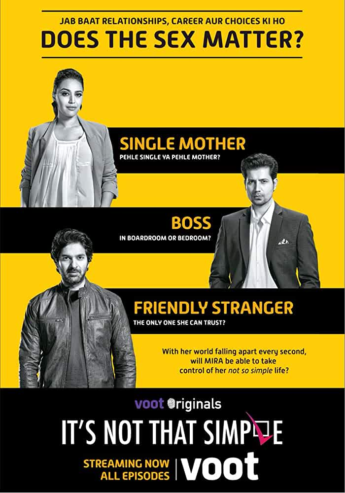 Purab Kohli, Swara Bhaskar, and Sumeet Vyas in It's Not That Simple (2016)
