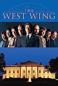 Rob Lowe, Martin Sheen, Allison Janney, Dulé Hill, Moira Kelly, Janel Moloney, Richard Schiff, John Spencer, and Bradley Whitford in The West Wing (1999)