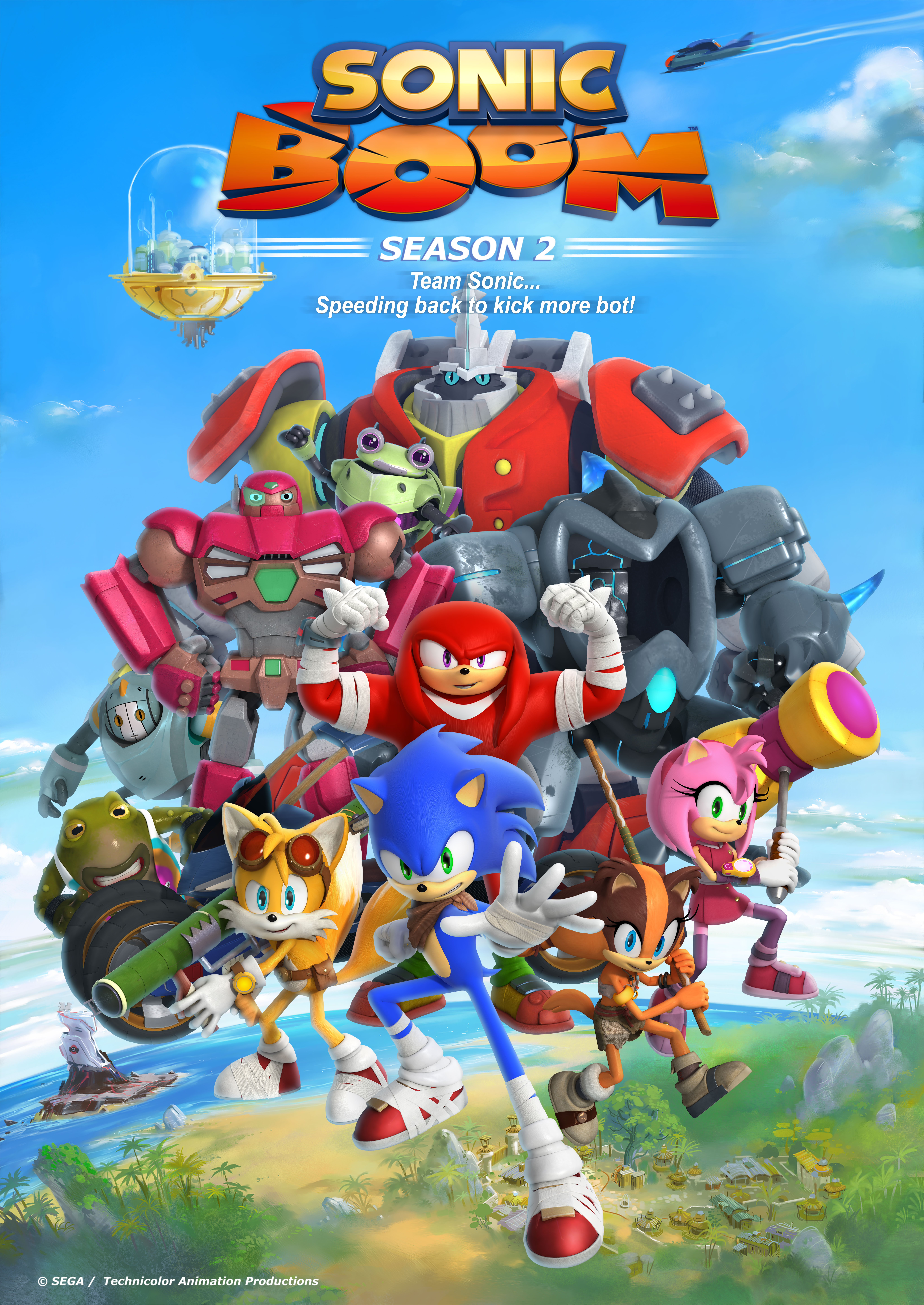 Sonic Boom - Production & Contact Info | IMDbPro