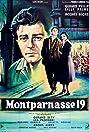 Montparnasse 19 (1958) Poster