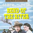 James Stewart and Julie Adams in Bend of the River (1952)