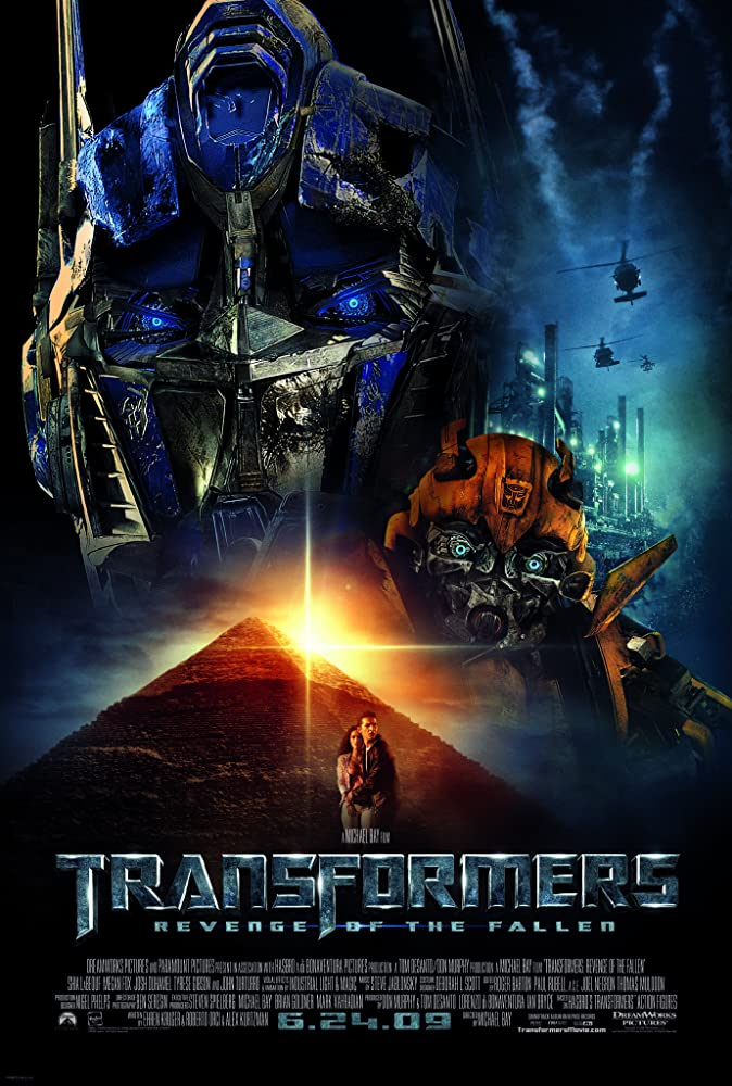 Transformers Revenge of the Fallen 2009 Hindi Dual Audio ORG 500MB BluRay ESub Download