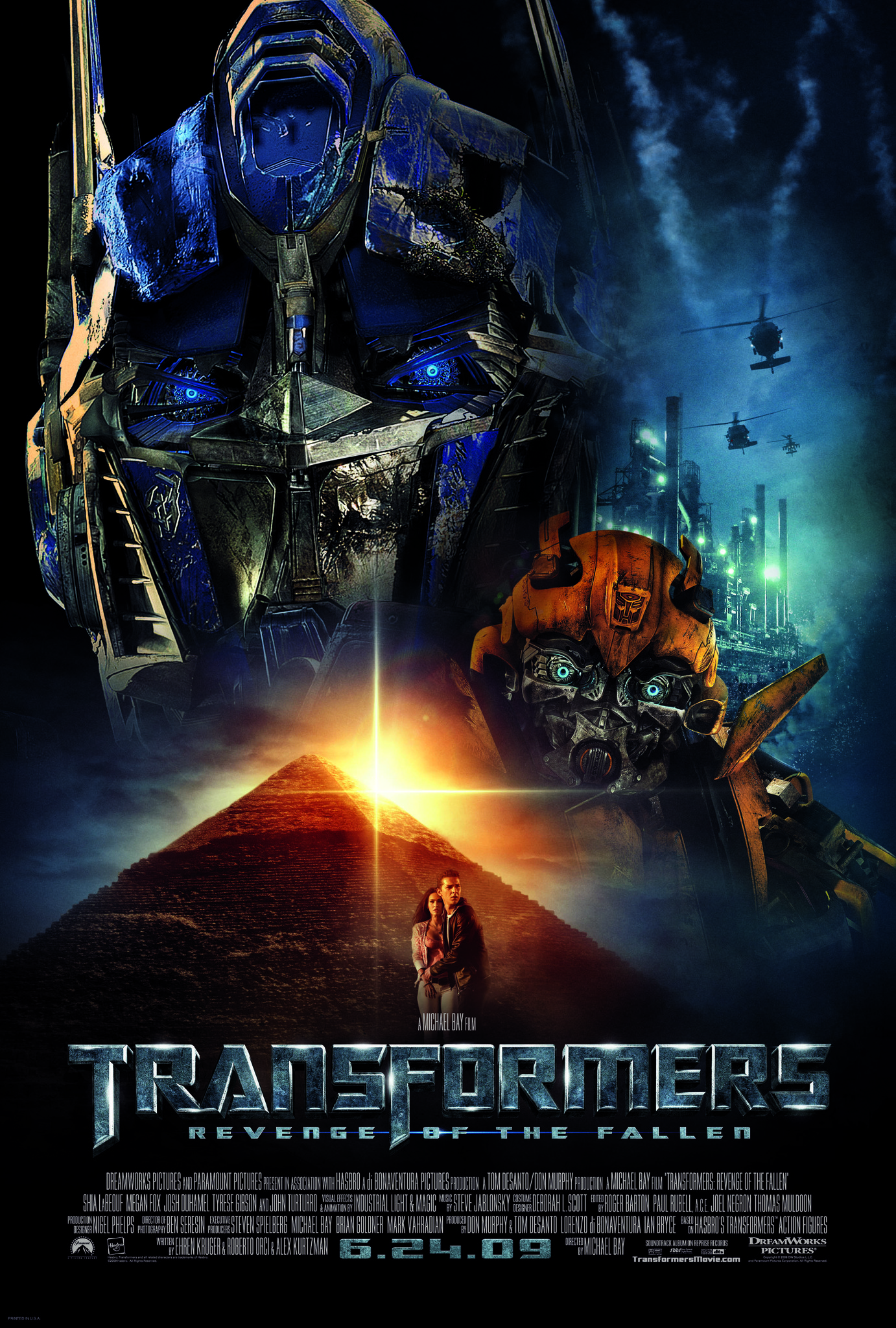 Transformers: Revenge of the Fallen (2009) BluRay 480p, 720p & 1080p