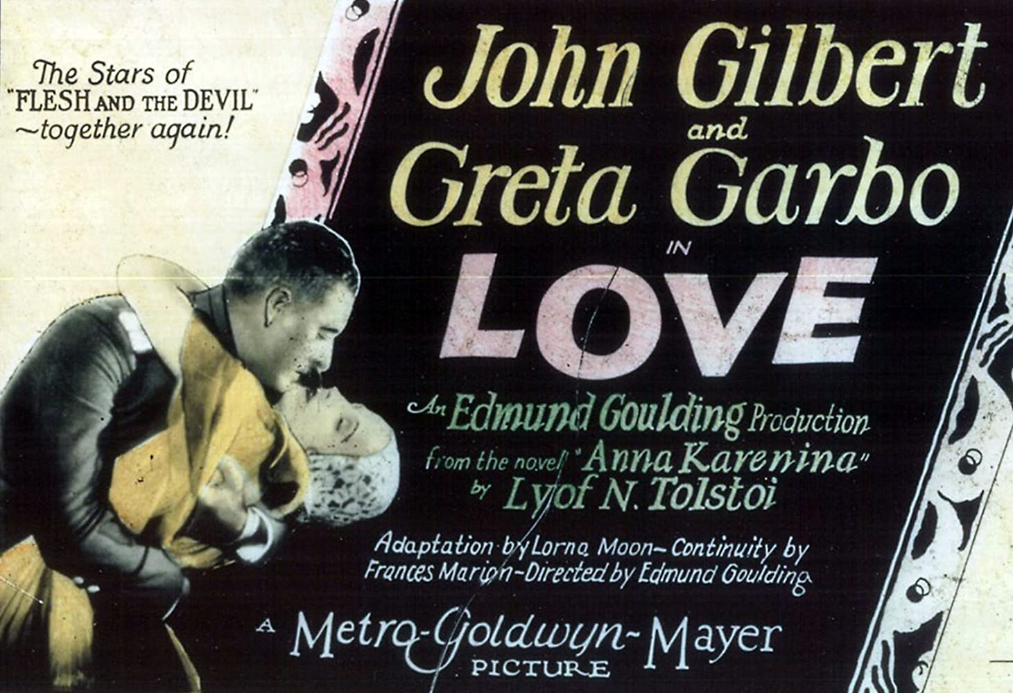 Image result for love 1927 greta garbo