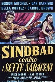 Simbad contro i sette saraceni Poster