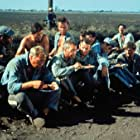 Paul Newman, Dennis Hopper, George Kennedy, Harry Dean Stanton, J.D. Cannon, Richard Davalos, Robert Drivas, Warren Finnerty, and Chuck Hicks in Cool Hand Luke (1967)