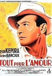 Tout pour l'amour(1933) Poster - Movie Forum, Cast, Reviews