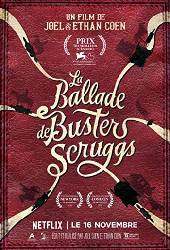 Poster of The Ballad of Buster Scruggs 2018 1080p English BluRay Full Movie Download HD