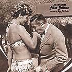 Peppino De Filippo and Sylva Koscina in Genitori in blue-jeans (1960)