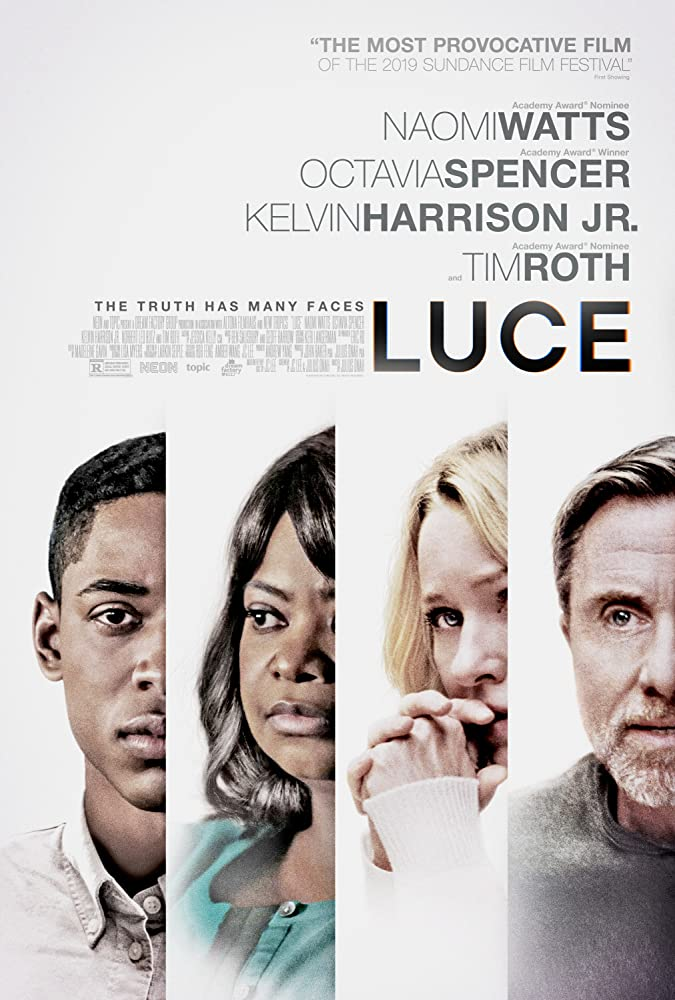 Tim Roth, Octavia Spencer, Naomi Watts, and Kelvin Harrison Jr. in Luce (2019)