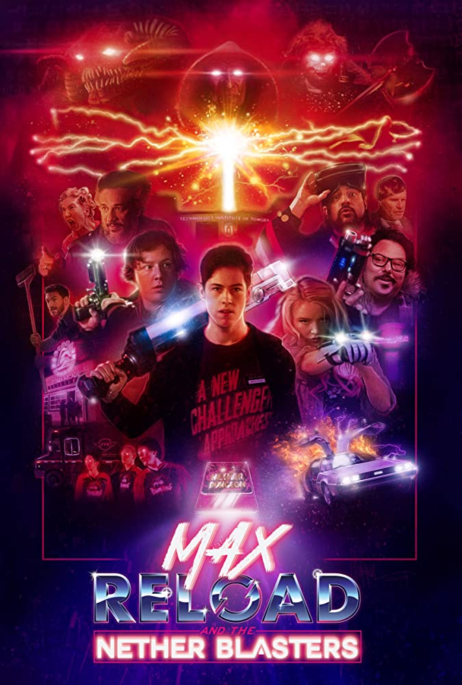 Max Reload and the Nether Blasters 2020 English 320MB HDRip Download