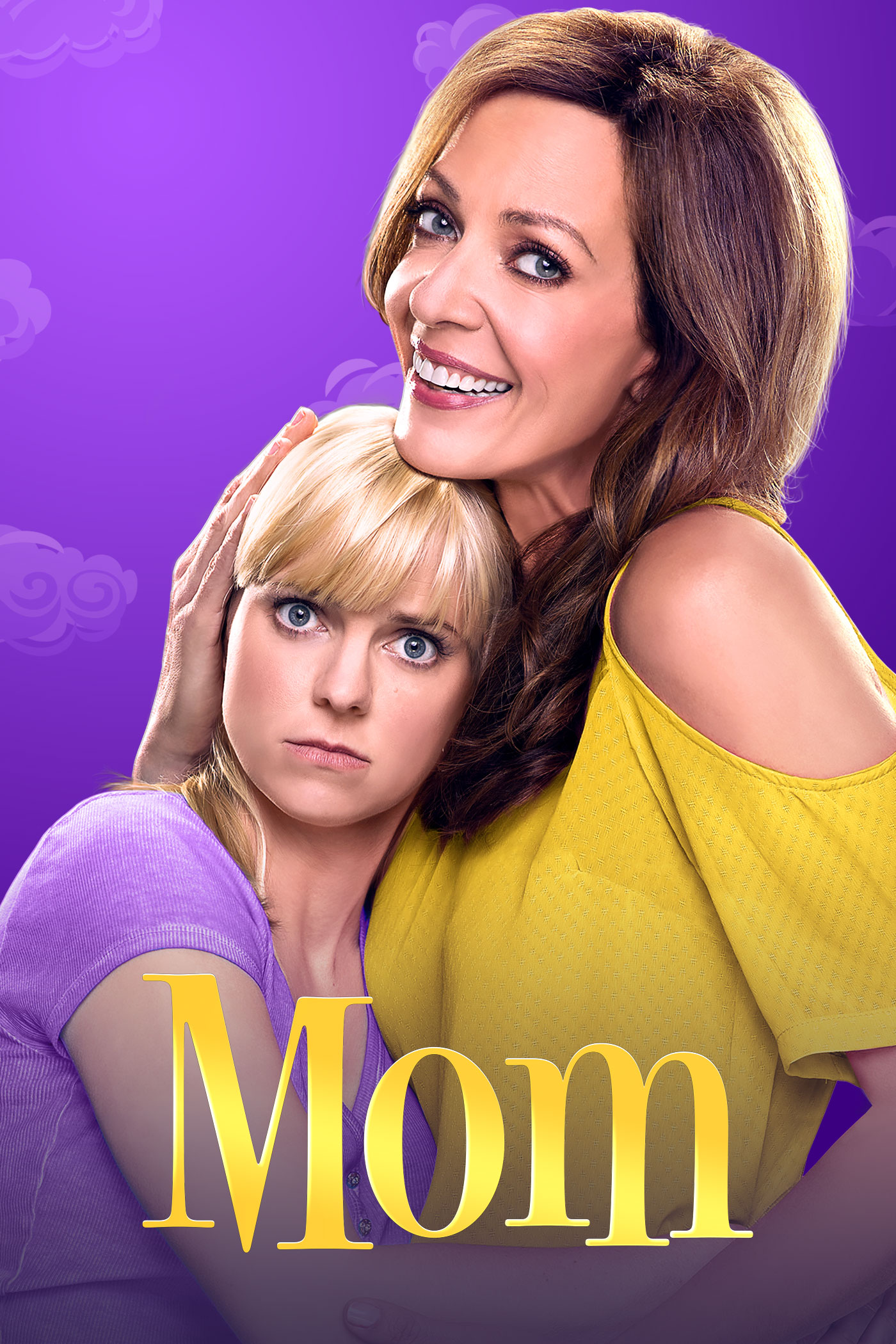 Allison Janney and Anna Faris in Mom (2013)