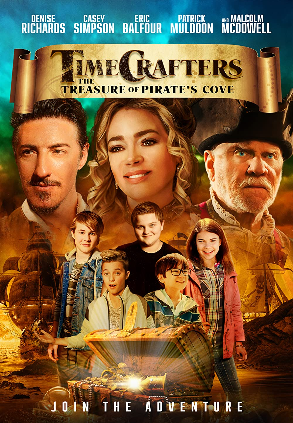Timecrafters The Treasure of Pirate's Cove 2021 English 293MB HDRip Download