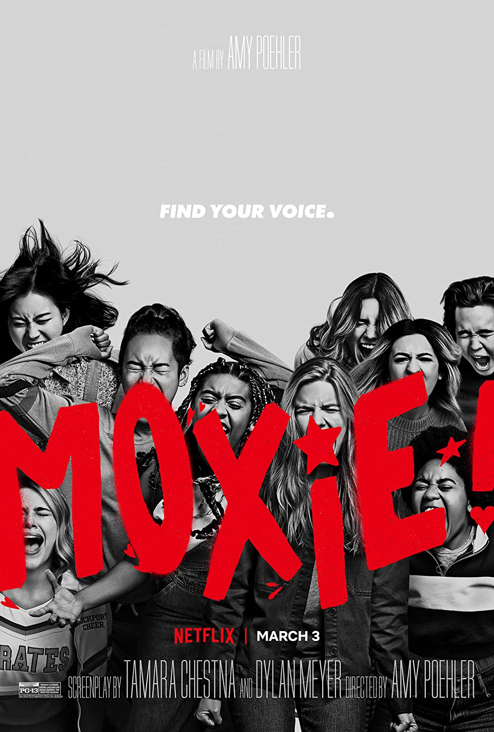 Moxie (2021) ORG Hindi Dual Audio 720p NF HDRip ESubs 800MB