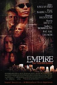 John Leguizamo, Denise Richards, Sônia Braga, Anthony 'Treach' Criss, Fat Joe, and Peter Sarsgaard in Empire (2002)