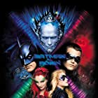 George Clooney, Arnold Schwarzenegger, Alicia Silverstone, Uma Thurman, and Chris O'Donnell in Batman & Robin (1997)