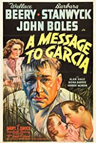 Wallace Beery, Barbara Stanwyck, and John Boles in A Message to Garcia (1936)