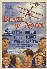 Blaze of Noon Poster