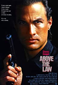 Steven Seagal in Above the Law (1988)