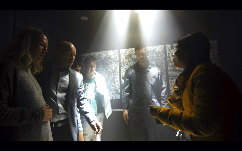 Emy Aneke, Josh Blacker, Zarina Sterling, Traei Tsai, Andrea Stefancikova, Andy Canete, and Mostafa Keshvari in Corona (2020)