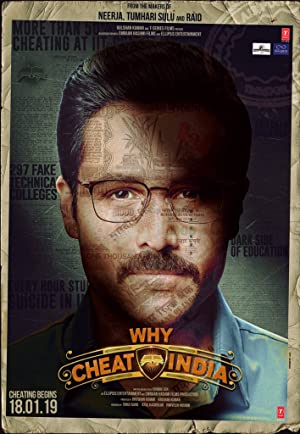 Why Cheat India Affiche de film