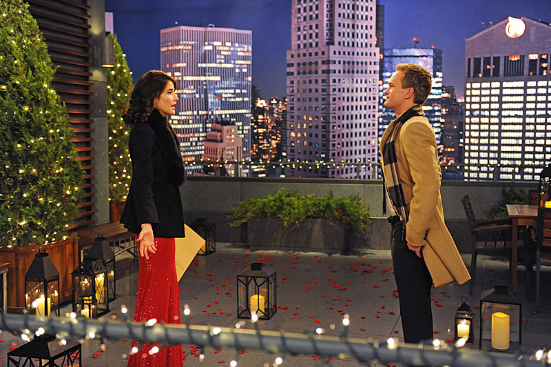 Neil Patrick Harris and Cobie Smulders in How I Met Your Mother (2005)