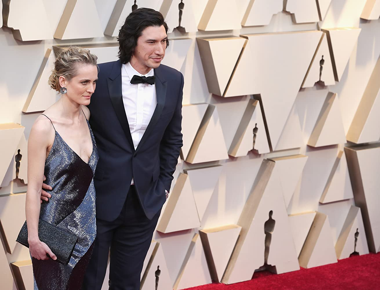 Adam Driver and Joanne Tucker at an event for The Oscars (2019)