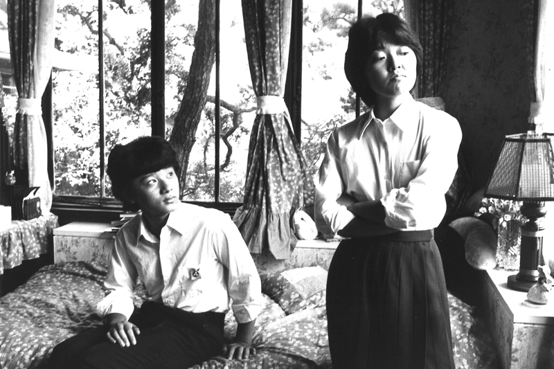 Satomi Kobayashi and Toshinori Omi in Tenkôsei (1982)