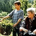 Jana Stepánková and Marián Beník in Ranc U Zelené sedmy (1996)
