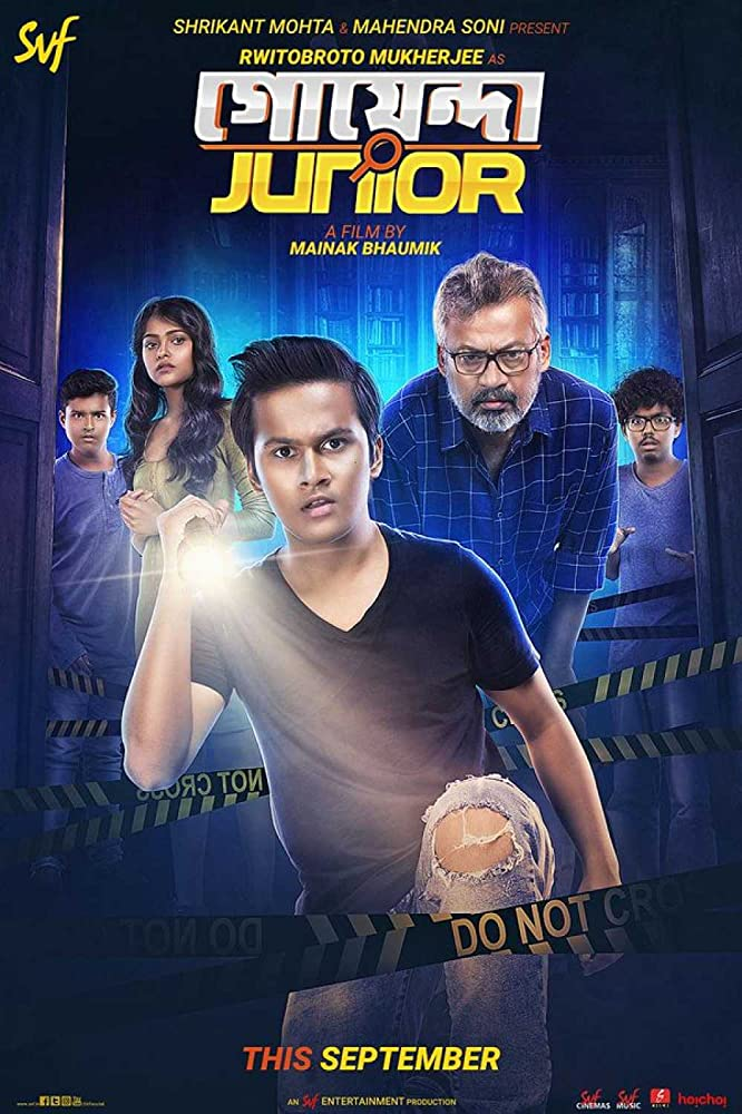 Goyenda Junior 2019 Movie Bengali WebRip 300mb 480p 1GB 720p