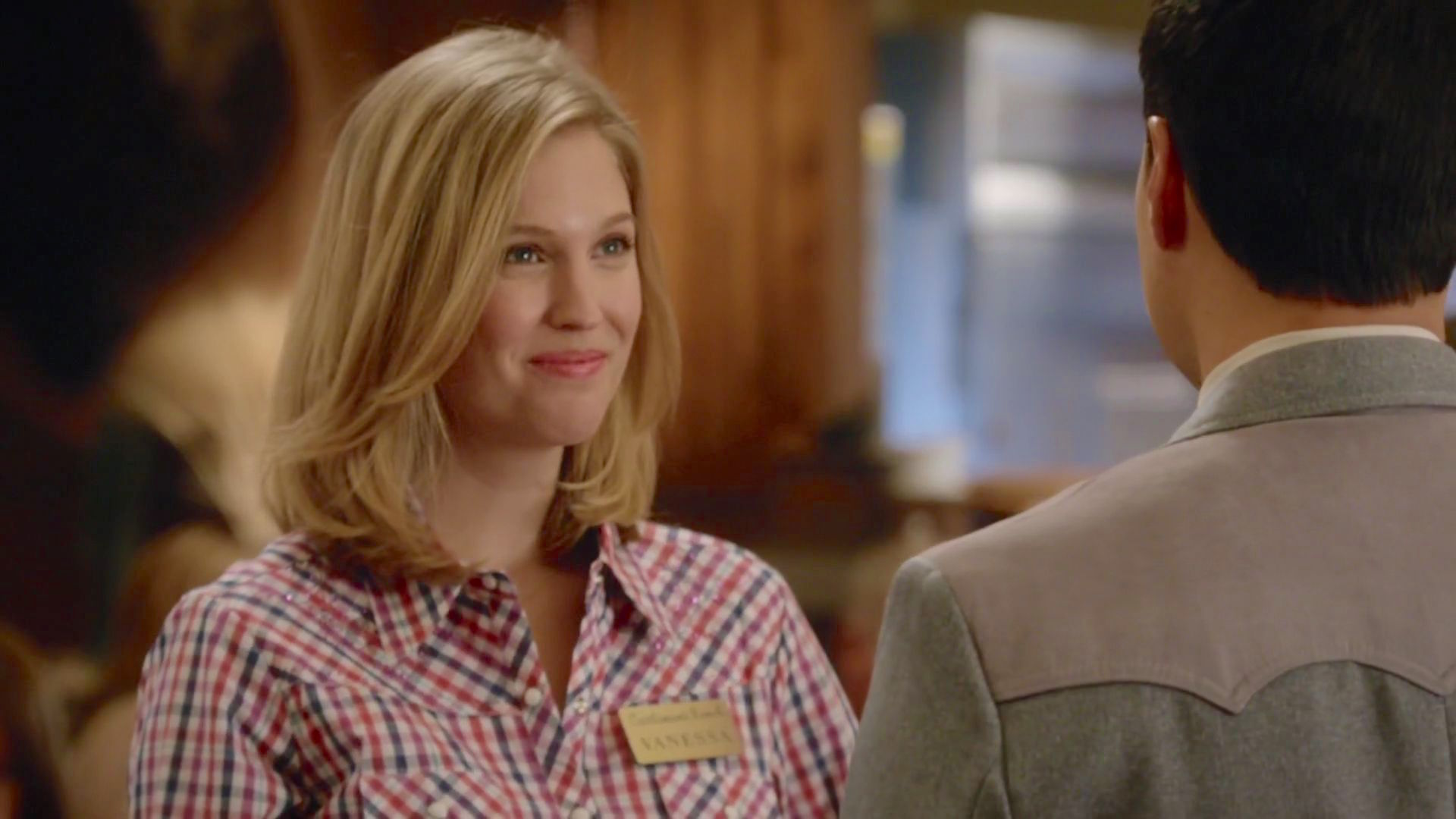 Randall Park and Amanda Lund in Fresh Off the Boat (2015)