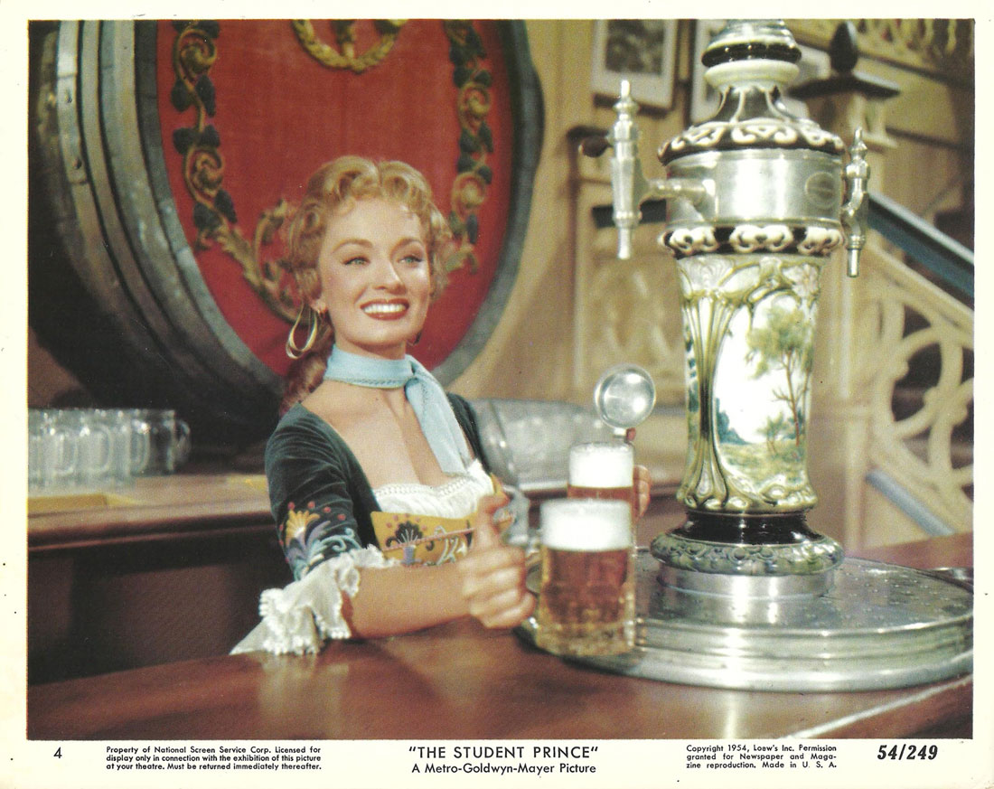 Ann Blyth in The Student Prince (1954)