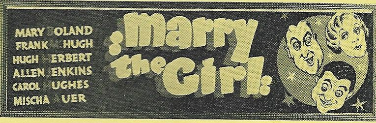 Hugh Herbert, Mary Boland, and Frank McHugh in Marry the Girl (1937)