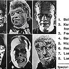 Bela Lugosi, Lon Chaney Jr., Lon Chaney, Rondo Hatton, Fredric March, and Steven Marlo in Terror in the Wax Museum (1973)