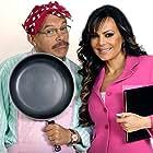 Mauricio Castillo and Maribel Guardia in ¡Qué madre, tan padre! (2006)