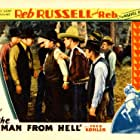 Clyde McClary, Jack Rockwell, Reb Russell, Al Taylor, Slim Whitaker, and Rebel in The Man from Hell (1934)