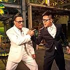 Jean-Claude Van Damme and Chengpeng Dong in Jian bing xia (2015)